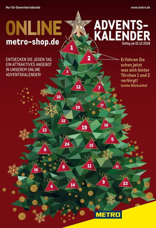 Metro Tannenbaum.Metro Gourmetro Seite 1